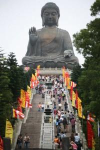 Trap naar de Buddha